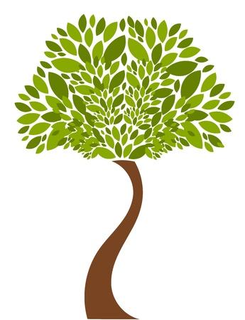 Illustration pour Tree illustration - image libre de droit