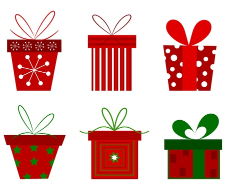 Christmas presents collection.