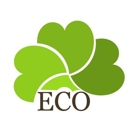 Eco concept creative design. illustration