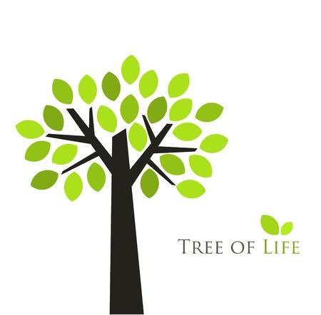 Tree of life. Vector illustration