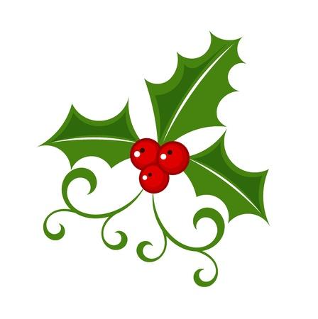 Holly berry - Christmas symbol