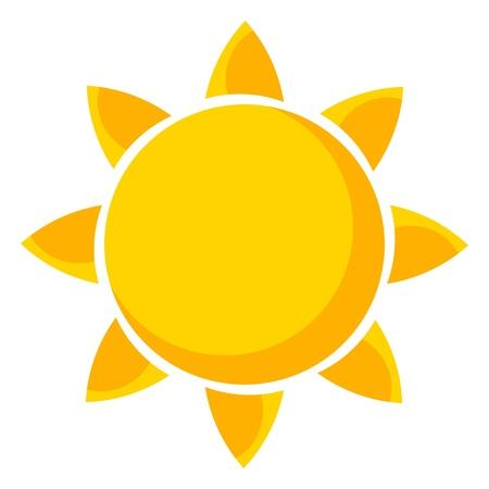 Foto für Sun. Vector illustration - Lizenzfreies Bild