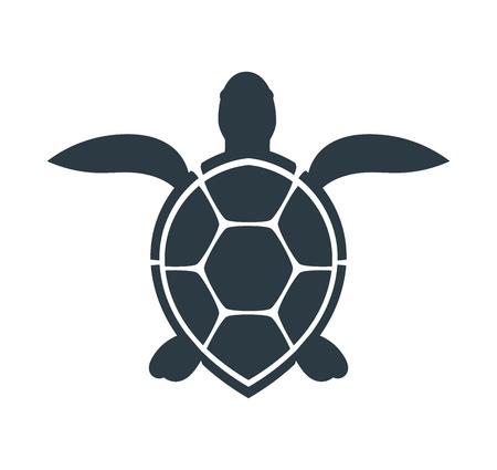 Illustration pour Sea turtle icon. Vector illustration - image libre de droit