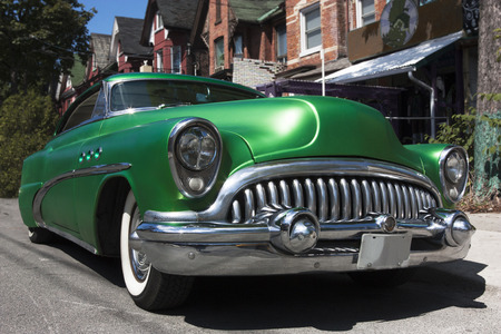 Classic early fifties period American manufactured automobile