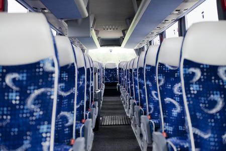 Interior of an interurban coach