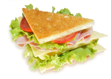 Sandwich vegetal.