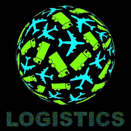Globe with transport mix.