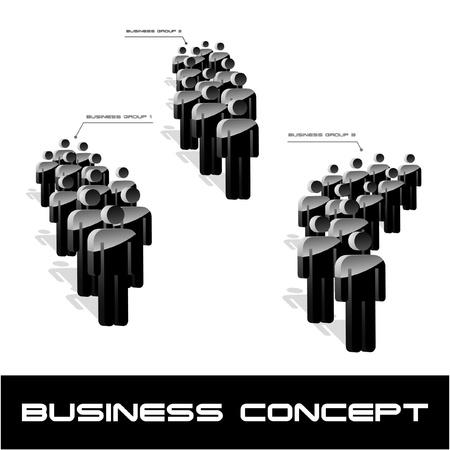 Network concept. Vector illustration.