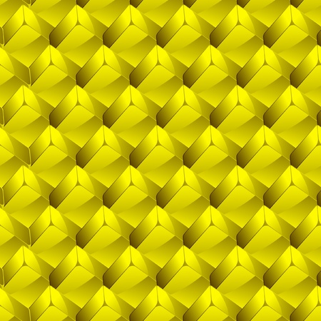 Seamless background with golden blocks.