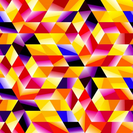 Seamless multicolor pattern  Abstract illustration