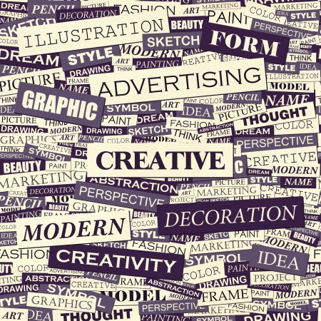 Creative Wordcloud
