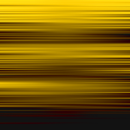 Gold waves background. Metal plate with reflected light. Vector illustration.