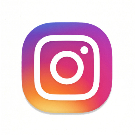 Foto de MOSCOW, RUSSIA - MAY 14, 2016: New Instagram logotype camera. Instagram - free application for sharing photos and media content of a social network. - Imagen libre de derechos