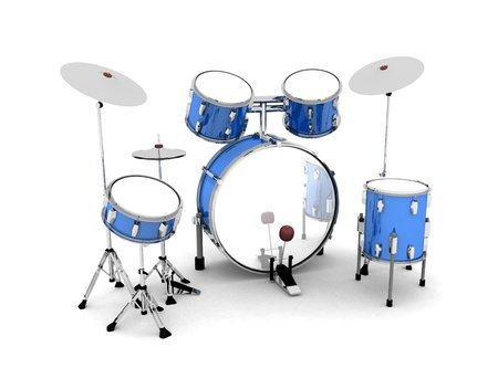 Silver blue drums - released 02
