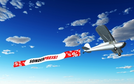 Airplane Banner - Special Price