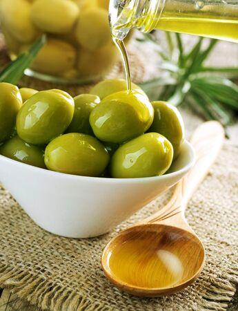 Foto für Olives and Olive Oil - Lizenzfreies Bild