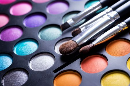 Makeup professional shadows paletteの写真素材