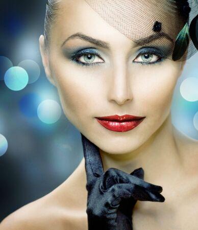 Beautiful Woman. Perfect make-up