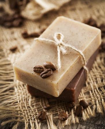Coffee and Chocolate handmade soap. Organic spa