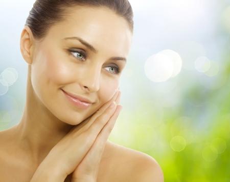 Beautiful Healthy Woman. Perfect Healthy skin
