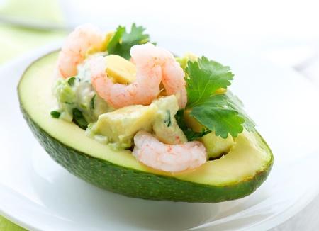Avocado and Shrimps Salad  Appetizer