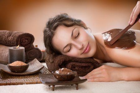 Spa Chocolate Mask  Luxury Spa Treatment