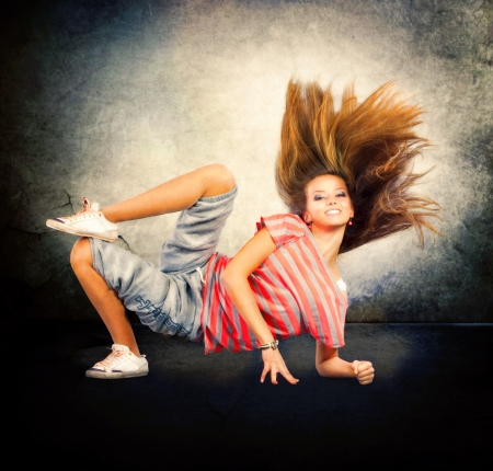 Dance  Hip-Hop Dancer  Dancing Teenage Girl