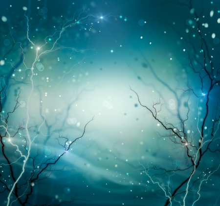 Winter Nature Abstract Background  Fantasy Backdrop