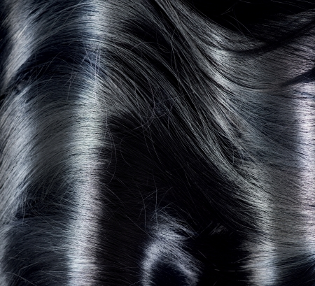 Black Hair Background  Long Dark Hair Texture