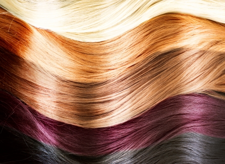Hair Colors Palette  Hair Texture