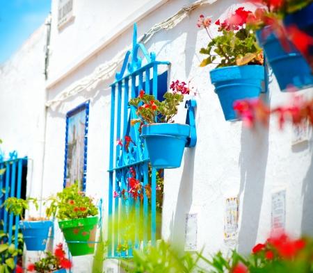 Torremolinos  Costa del Sol, Andalucia  Typical White Village