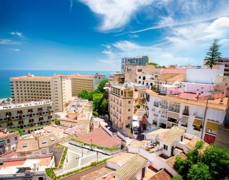 Torremolinos Panoramic View, Costa del Sol  Malaga, Spain