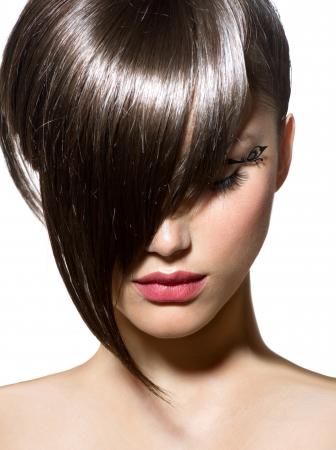 Fashion Haircut  Hairstyle  Stylish Fringe