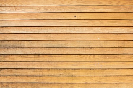 Big Brown wood plank wall texture backgroundの写真素材