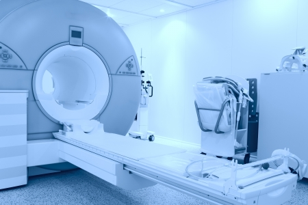 room with MRI machine