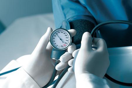 Measurement of blood pressure in hospital