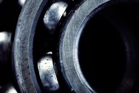 Photo pour Fragment of bearing for industrial background - image libre de droit