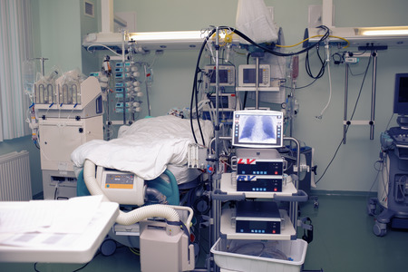 Medical utilities in the hospital ward.