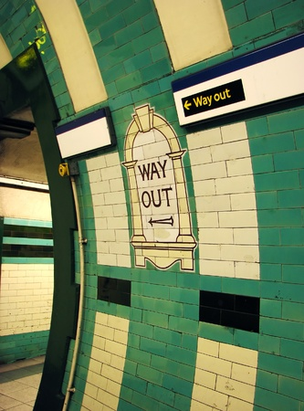 Way Out London Tube