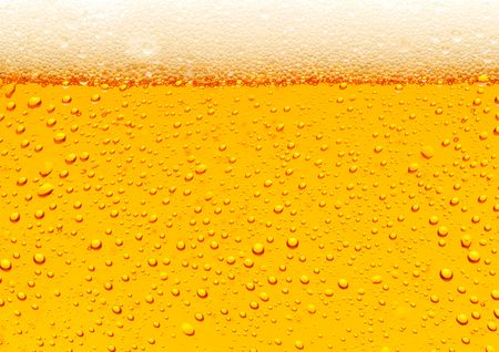 Photo pour Close up of beer bubbles - image libre de droit