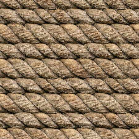 Seamless Heamp Rope Texture Pattern