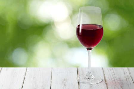 Photo pour Red Wine and Forest Backgrounds - image libre de droit
