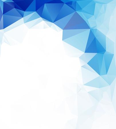 Photo pour polygonal mosaic background, Vector illustration,  Business design templates - image libre de droit