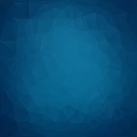 Illustration pour Blue Light Polygonal Mosaic Background, Vector illustration,  Creative  Business Design Templates - image libre de droit