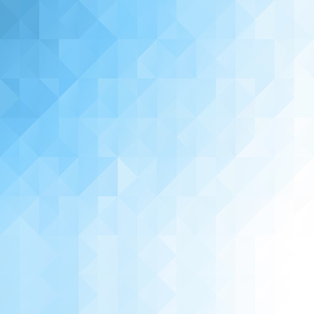 Blue White Seamless Mosaic Background, Vector illustration,  Creative  Business Design Templates