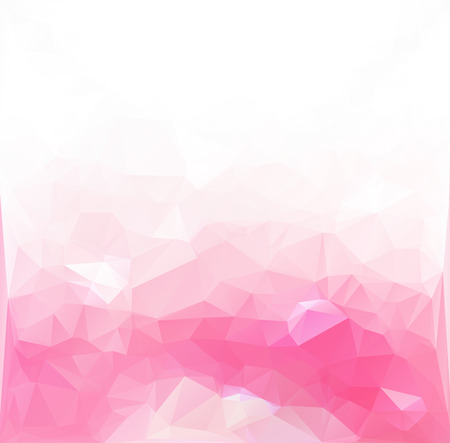 Pink Polygonal Mosaic Backgroundのイラスト素材