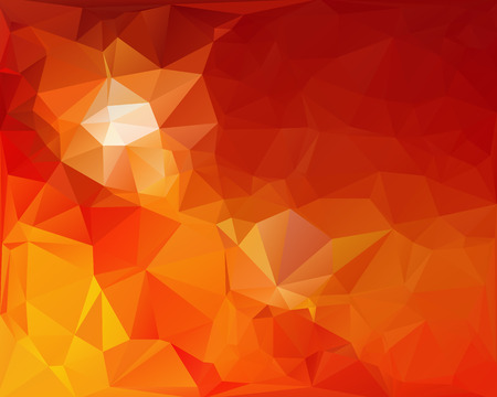 Orange Polygonal Mosaic Background, Creative Design Templatesのイラスト素材