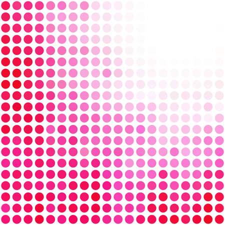 Pink Random Dots Background, Creative Design Templatesのイラスト素材