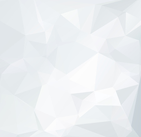 Gray White Polygonal Background, Creative Design Templatesのイラスト素材