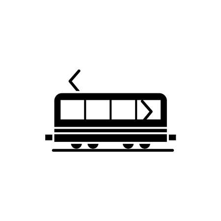 Illustration for Illustration Vector graphic of train icon. Fit for transportation, subway, railway etc. - Royalty Free Image
